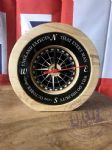 Solid Wood Clock- Trafalgar (Black)
